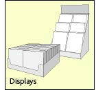 Aktionsware in Displays