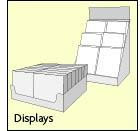 Ausverkaufsware Displays