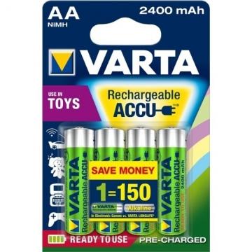 Varta Akku Toys Mignon AA Ready To Use 2400 mAh Blister/4
