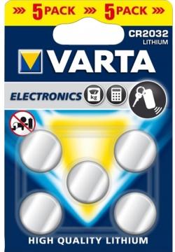 Varta Lithiumzelle 5er Pack CR2032 Blister/5