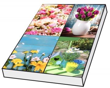 Grußkarten Gartenträume ohne Text Set/100