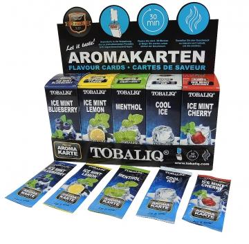 Tobaliq Aromakarten 125er Mix Display/125