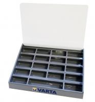 Sortierkasten für Knopfzellen