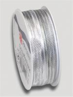 Ziehschleifenband Astoria Silber 1 Tray/10