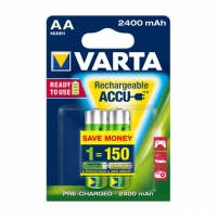 Varta Akku Mignon AA Ready To Use 2400 mAh Blister/2