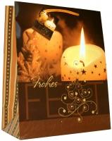 Geschenktaschen Weihnachten Klein Romantik Set/20