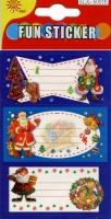 Geschenkaufkleber Weihnachten Classic Set/25