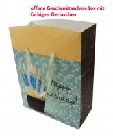 Geschenktaschen Box Herzstücke Groß Set/10