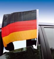 Autoflagge Deutschland Set/10