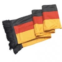 Schal mit Fransen Deutschland Set/4