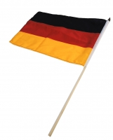Stabflaggen Deutschland 45 x 30 cm Set/12