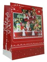 Geschenktaschen Weihnachten mittel 3D Set/10