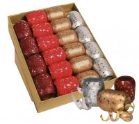 Eiknäuel-Ringelband Weihnachten mit Sterne Display/20