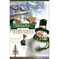 Grußkarten Weihnachten Weihnachtszauber Set/100
