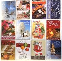 Postkarten Weihnachten Set/10