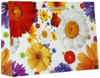 Geschenktaschen Flora mini quer Set/20