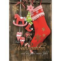 Grußkarten Weihnachten Potpourri Multiset/30