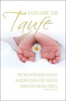 Grußkarte Skala Taufe Neues Leben Set/5