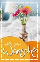 Grußkarten Allgemeiner Glückwunsch Set/100