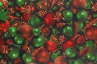 Maxirolle Weihnachten Weihnachtskugeln Stück/1