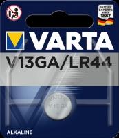 Knopfzellen Varta V13 GA/LR44  Blister/1
