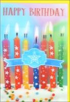 Grußkarten Geburtstag 3D Set/20