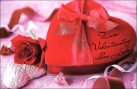 Grußkarten Valentinstag Set/30 SLA