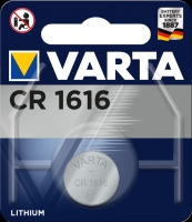 Varta Lithiumzelle Electronic CR1616 Blister lose