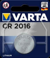 Varta Lithiumzelle Electronic CR2016 Blister lose