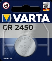 Varta Lithiumzelle Electronic CR2450 Blister lose