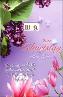 Grußkarten Drehbarer Zahlengeburtstag Set/30