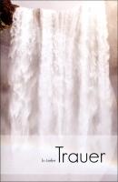Grußkarten Trauer Nebeltage Set/100