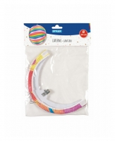 Ballonlaterne Farbenmix Ø 24 cm Set/6