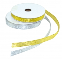 Metallic-Band gold  10m x 9mm Pack/1