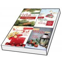 Grußkarten Weihnachten Modern Set/100