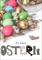 Grußkarten Ostern Multiset Set/30