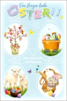 Grußkarten Ostern Prime Set/30