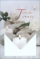 Grußkarte Skala Trauer Geldkuvert Kerze Set/5