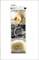 Grußkarten Trauer Beileid Set/100