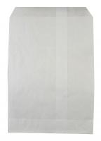 Flachbeutel weiß 15 x 23 cm Set/250