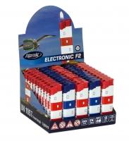 Elektronik Feuerzeug Leuchtturm Display/50