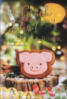 Grußkarten Prosit Neujahr Set/20