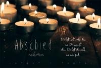 Grußkarten Trauer Abendlicht Multiset Set/30