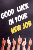 Grußkarte Skala Neuer Job Luck Set/5