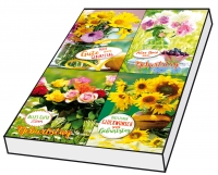 Grußkarten Geburtstag Blumenzauber Set/100