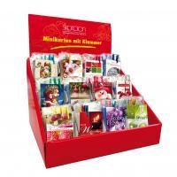 Mini Karten Weihnachten Fantasie mit Klammer Display/120