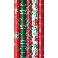 Geschenkpapier Weihnachten Shiny Tradition Display/30