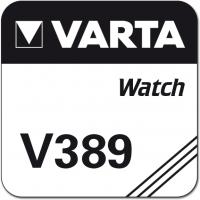 Uhrenknopfzelle Varta 389 lose