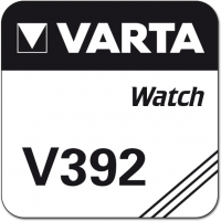 Uhrenknopfzelle Varta 392 lose