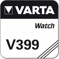 Uhrenknopfzelle Varta 399 lose